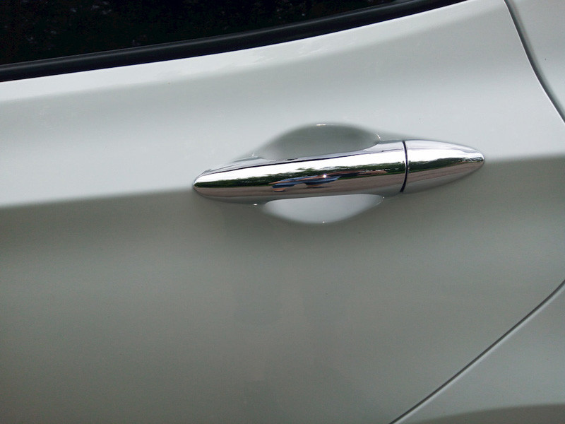 For HYUNDAI TUCSON TL 2015 2016 ABS CHROME DOOR HANDLE COVER Auto ACCESSORIES Free shipping111