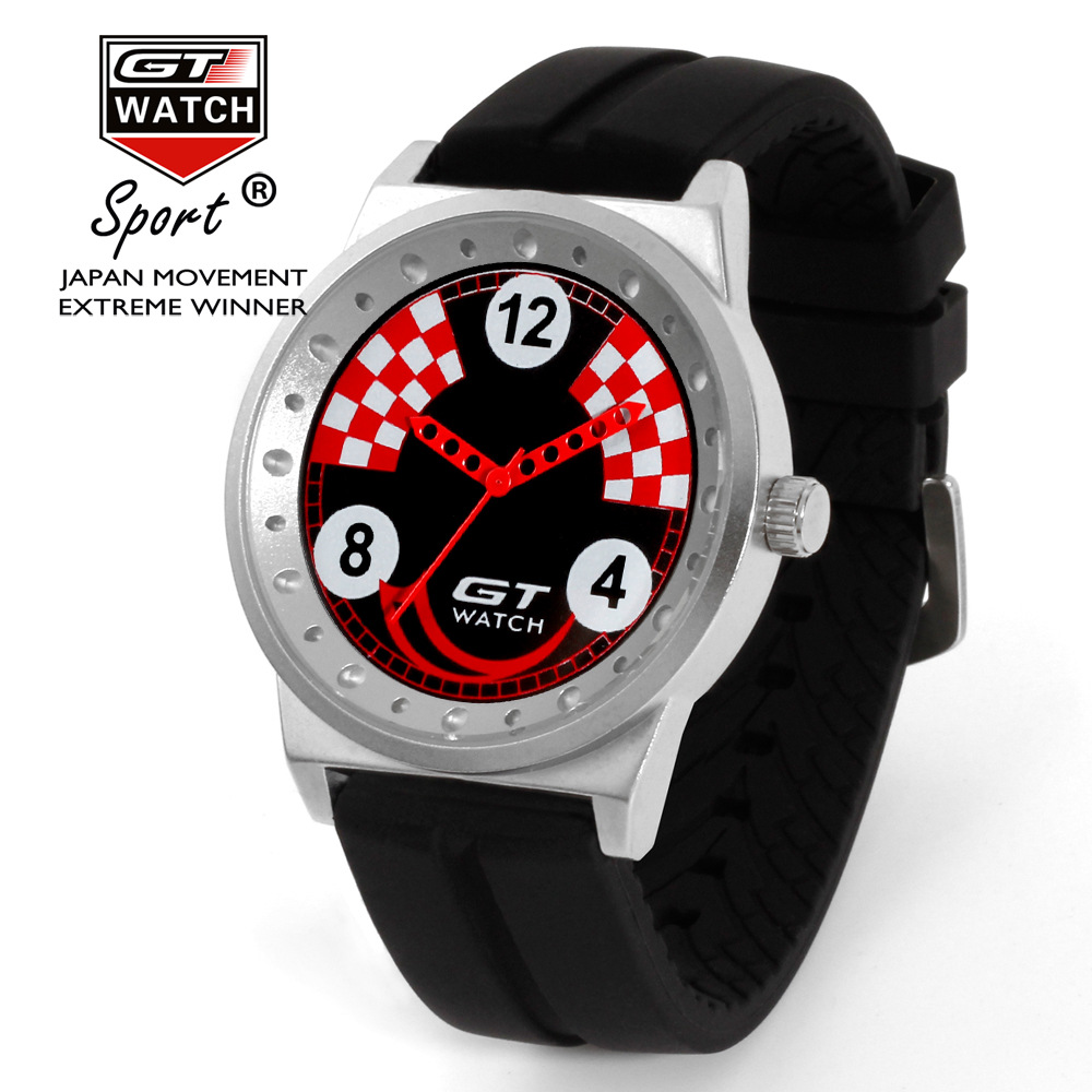 GT Sports Brand Watch Hot sales Fashion Design watch Men Classic Trend Quartz Watches F1 racing style watch Relogio Masculino ...