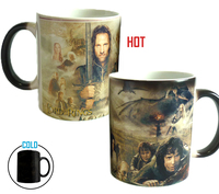 Drop Shipping Magic The Lord Of The Rings Mugs Coffee Mug Cold Hot Heat Changing Color