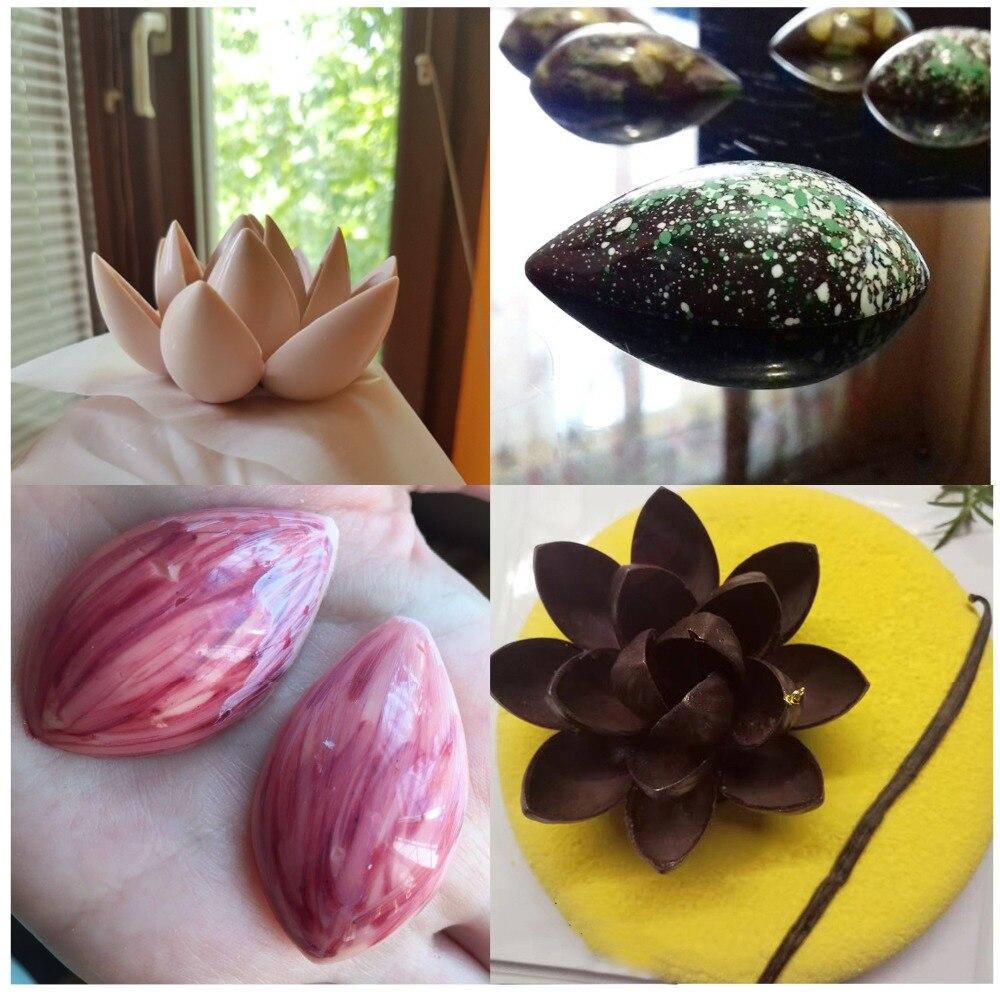 Molde do chocolate do policarbonato da forma
