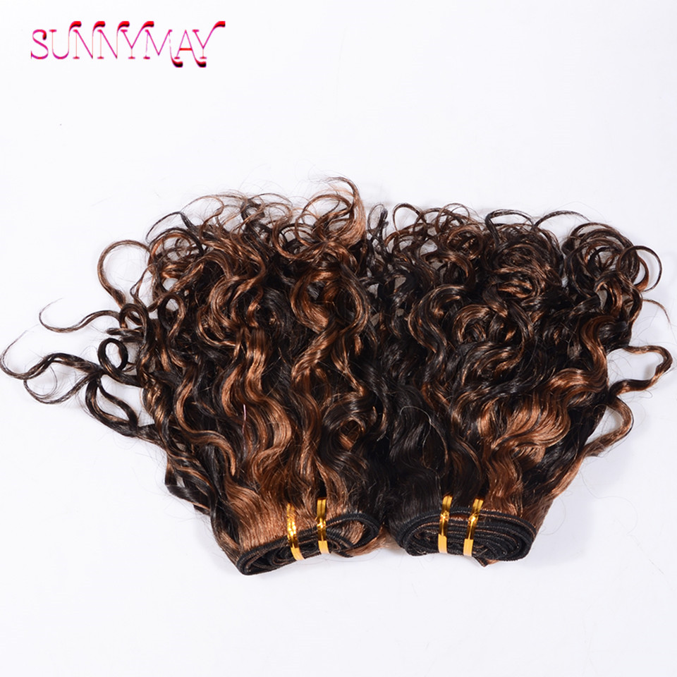 8a Brazilian Virgin 1b Highlight 30 Human Hair Weave Extension