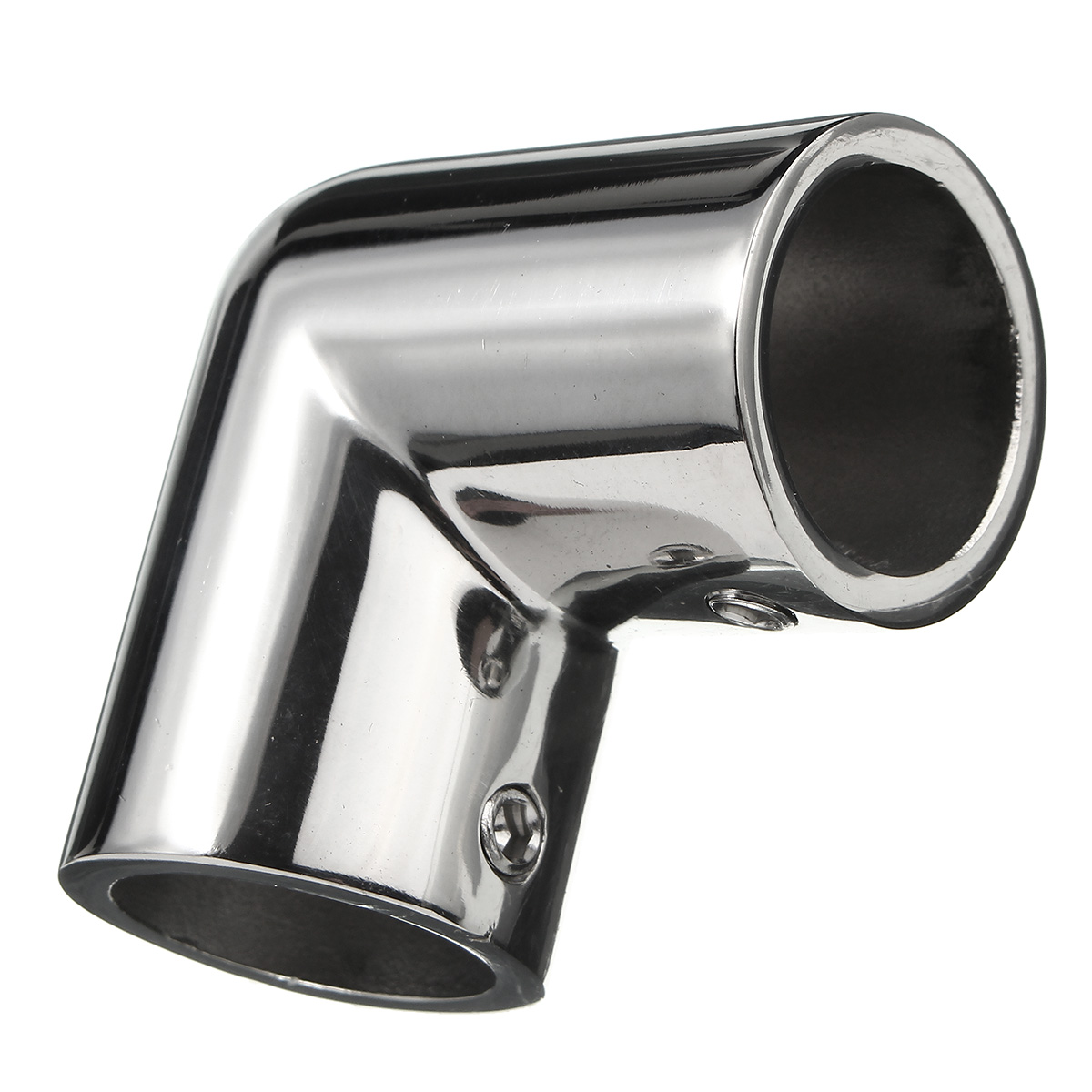 For AISI 316 Grade Stainless Steel Marine Boat Handrail 90 Degree Elbow 1 Tub
