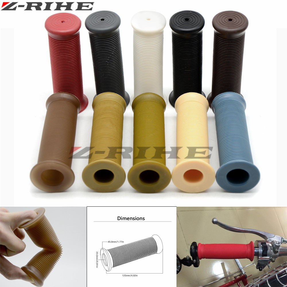 22mm Motorcycle Hand Grips Handle Rubber Bar Gel Grip Modified Accessory For Honda PCX 125/150 PCX125/150 PCX150 PCX150 All Year