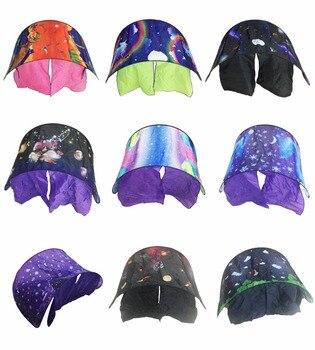 9 تصميم توهج مبتكرة السحرية حلم الخيام مع ضوء طفل المنبثقة خيمة سريرية مسرح النوم حقيبة الشتاء العجائب للأطفال