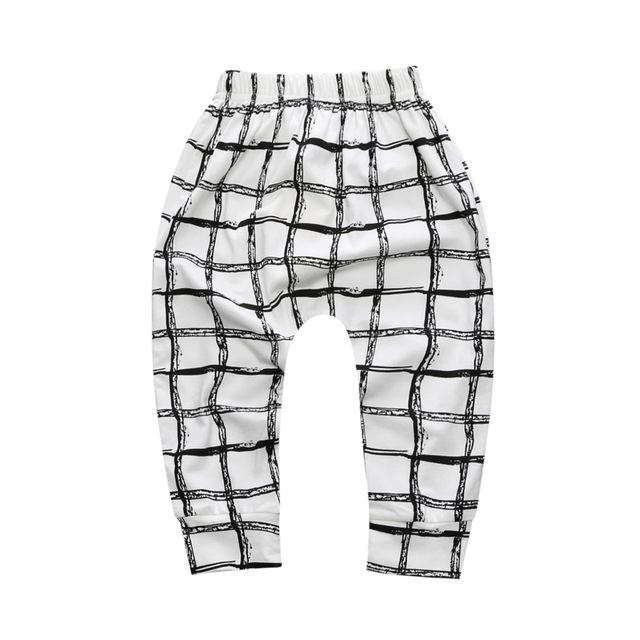 Baby Boys Trousers For Girls Hot Arrival Geometric Pattern PP Pants Newborn Toddler Harem Pants Fashionable Variety Of Pants 2