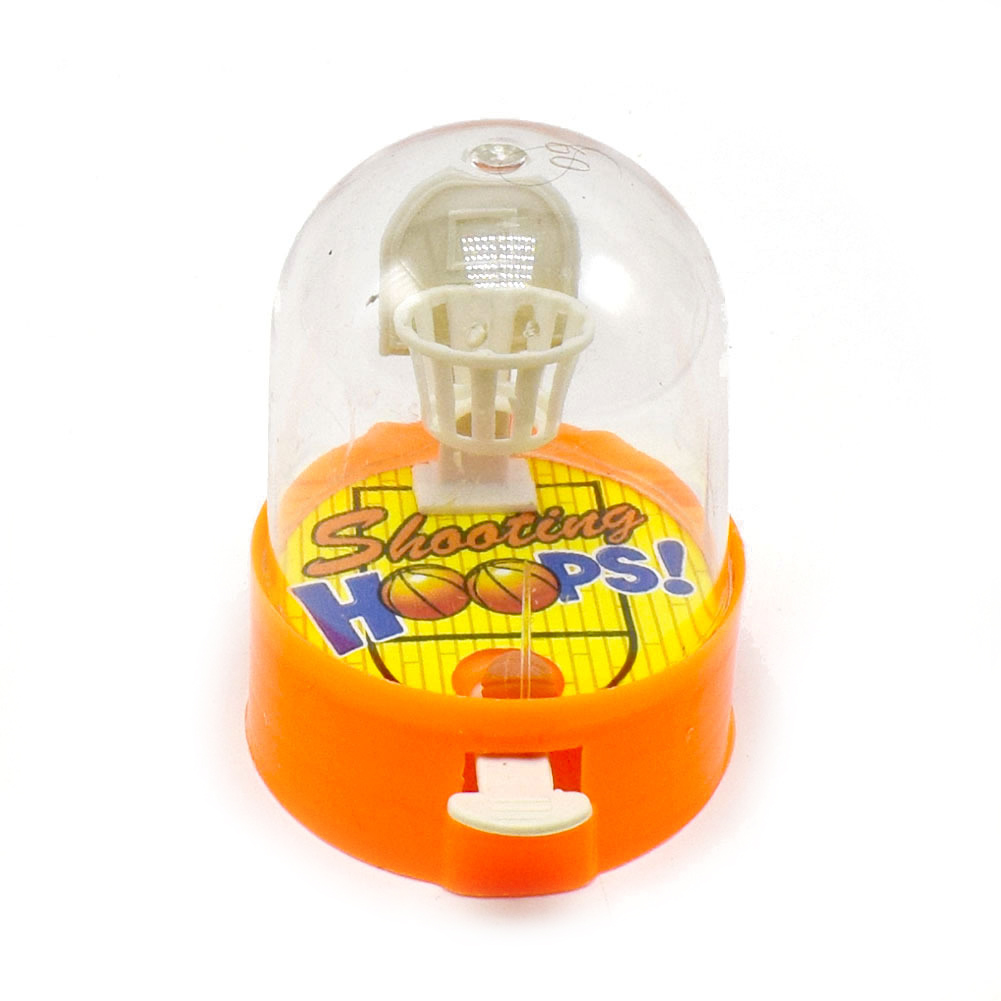 Kids Children Hoops Plastic Cute Pressure Release Finger Basketball Toy Shooting Balls Desktop Games Mini Handheld Random Color