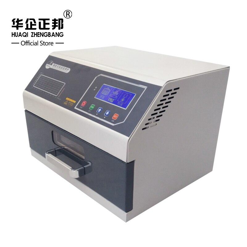Autorizado infrarrojos calentador IC reflujo horno de soldadura retrabajo SMD SMT horno de reflujo