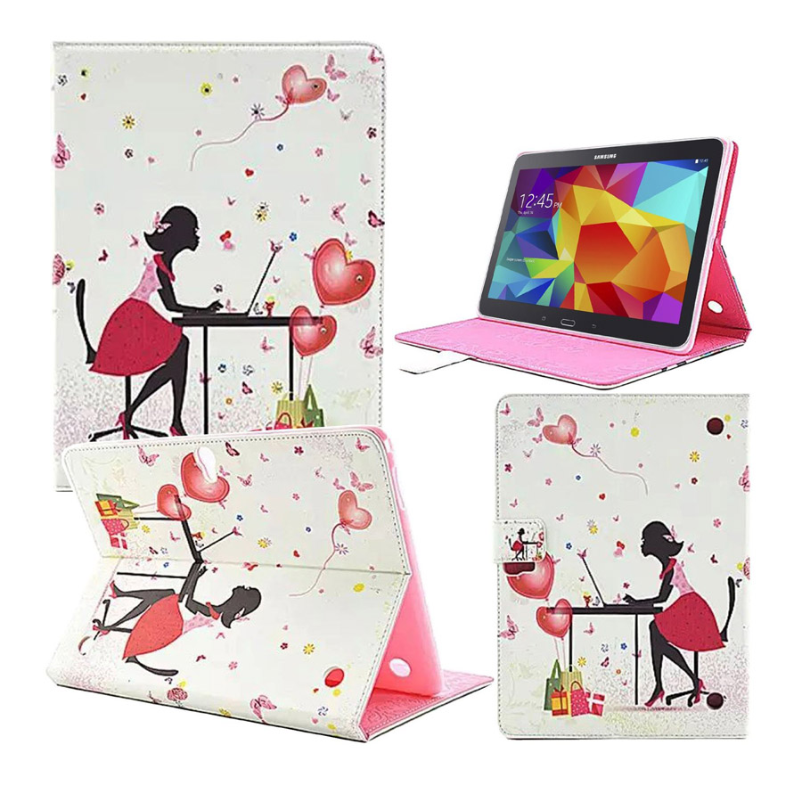 For Samsung Tab S 10.5 Case Leather 2016 Luxury Diamond Book Skin Cover for Samsung Galaxy Tab S 10.5 T800 Tablet 7 Styles цена и фото