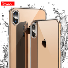 for iPhone XS Case IPAKY 360 XR with Tempered Glass Screen Protector Full Body Max
