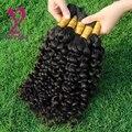 8А Человеческих Плетение Волос Оптом Малайзии Странный Вьющиеся Волосы Девственные 100 г Человека Для Микро Косы Плетение Волос Массовая Волос расширения
