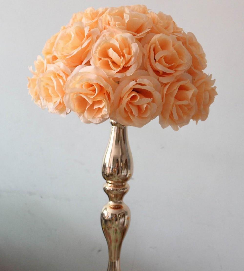 SPR perzik bruiloft tafel middelpunt zelfs planning decoratie - Feestversiering en feestartikelen - Foto 4