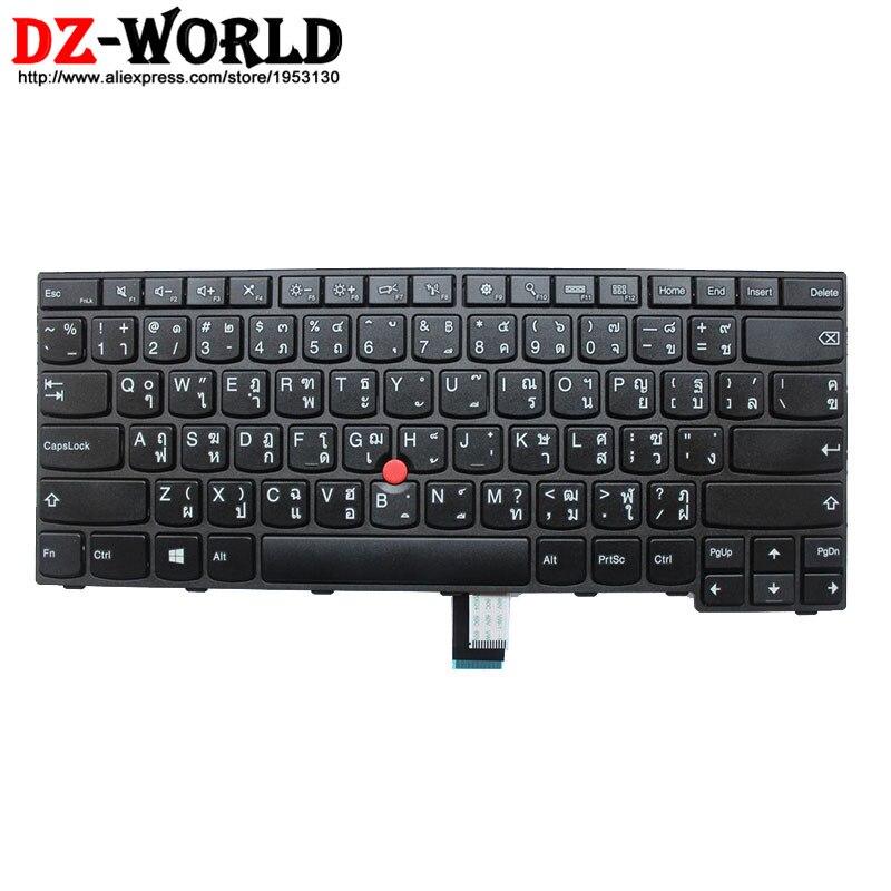 New original pour lenovo thinkpad e450 e450c e455 e460 e465 clavier teclado e thai disposition 04x6135 04x6175 sn20e66135