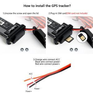 Image 3 - Mini Waterdichte Builtin Batterij Gsm Gps Tracker ST 901 Voor Auto Motorfiets Voertuig 3G Wcdma Apparaat Met Online Tracking Software