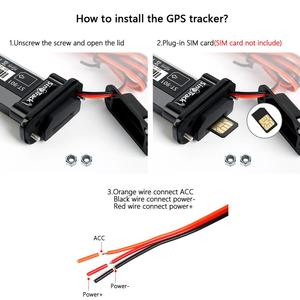 Image 3 - Mini Waterproof Builtin Battery GSM GPS tracker ST 901 for Car motorcycle vehicle 3G WCDMA device with online tracking software