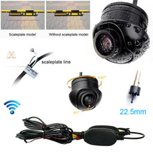 Russian USA Native ship Wireless / wired Car Rear View CCD Waterproof 170degree angle vision Front Backup Side Parking Camera