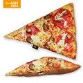 HUGSIDEA Cojines Cama de Pizza Resto forChristmas Presente Algodón Throw Pillow Almofada Decorativo Asiento Decoración Almohada Almohadas De Alimentos
