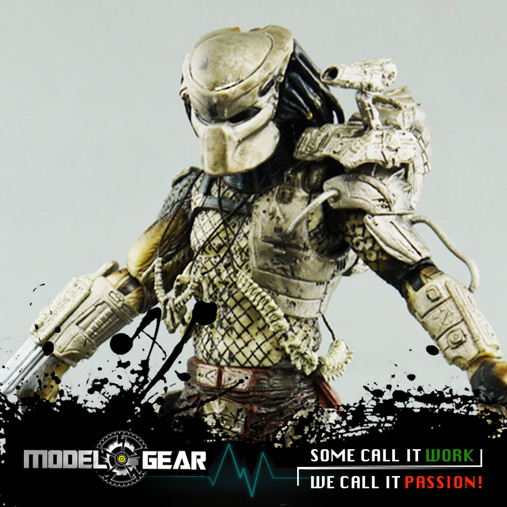 NECA Predator Series 8 Classic Predator Jungle Hunter PVC 25th Anniversary Action Figure Model Toy 7'' neca marvel legends venom pvc action figure collectible model toy 7 18cm kt3137