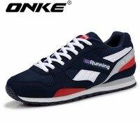 ONKE Nuevo anuncio ventas calientes Unisex hombres deportes zapatos corrientes de Luz Transpirable verano zapatillas de gama 798-598