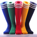 Ladies Long Cotton Stripe Stockings Women Thigh High Over Knee Socks