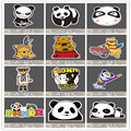 Stickers car styling home decor Doodle laptop motorcycle bike travel case decal Car