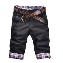Мужская мода джинсы тонкий хлопок короткие джинсовые брюки для человека мужского повседневная щиколотки брюки бесплатная доставка плюс размер М-3XL