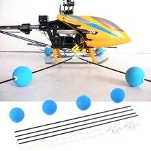 Hot! RC Drone Training Gear Sponge Ball Kit For RC Walkera Trex Align 400 450 RC