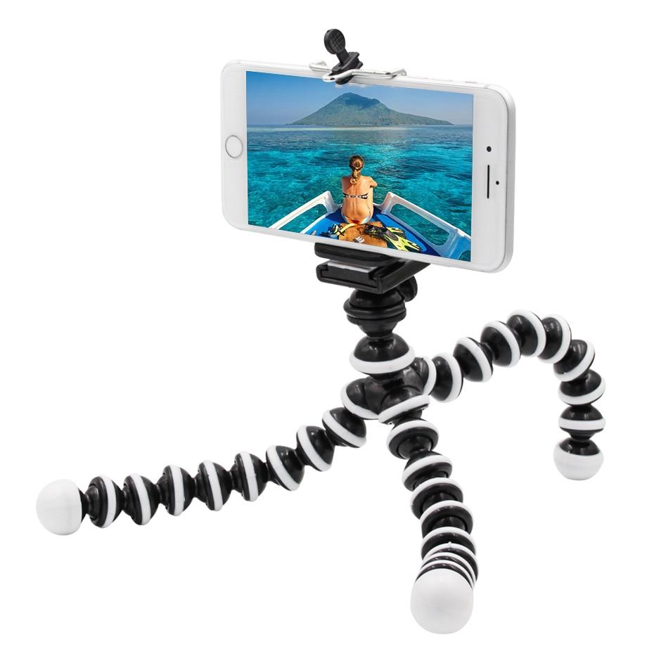 Octopus Medium Tripods Stand Spider Flexible Mobile Mini Tripod Gorillapod Stand For iPhone GoPro Canon Nikon Sony Camera Tripod