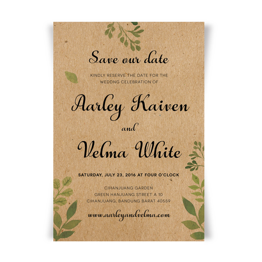 Wedding Invitations With Envelope