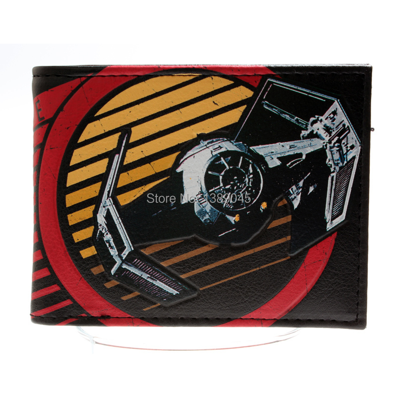 Star Wars Darth Vader animated cartoon wallet purse young students personality wallet DFT-1315 все цены