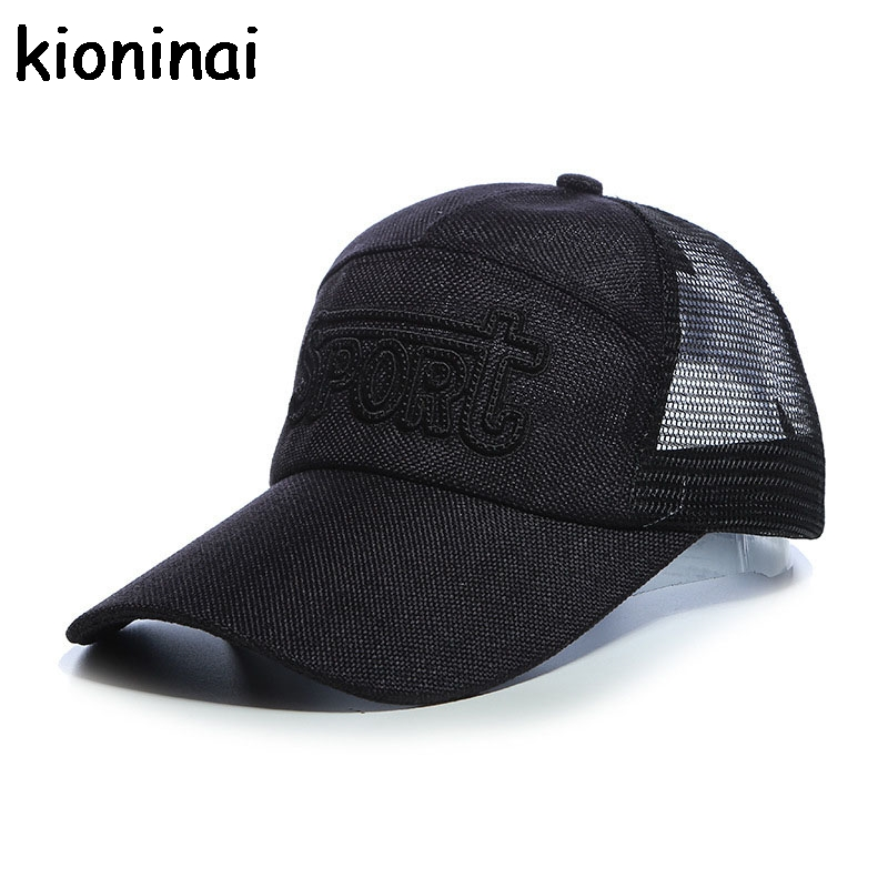 Quick-drying Snapback Sport Letter Mesh Cap 5 Colors Outdoor Shade Hat With Long Visor Baseball Cap Gorras Casquette ming dynasty emperor s hat imitate earthed emperor wanli gold mesh hat groom wedding hair tiaras for men 3 colors