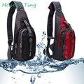 Men Bags Nylon Chest Diagonal Package Fashion Korean Messenger Shoulder Bag Waterproof Casual Small Bag