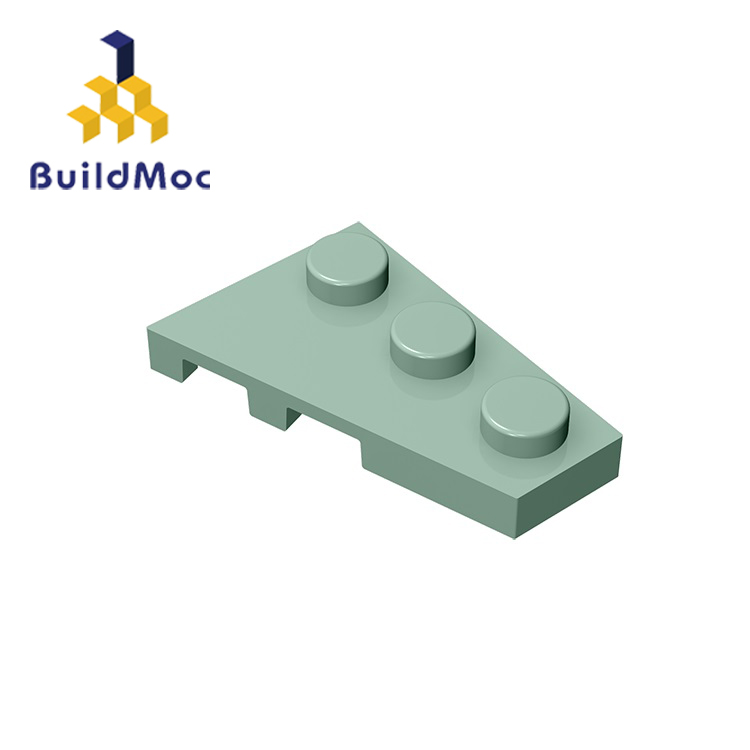 BuildMOC Compatible Assembles Particles 43722 2x3 For Building Blocks Parts DIY LOGO Educational Creative Gift Toys