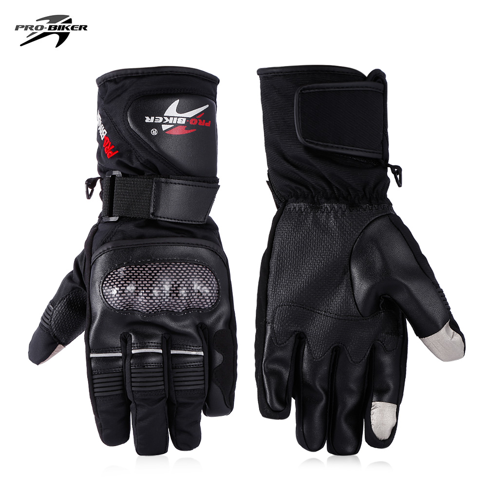 PROBIKER HX - 05 Motorcycle Motorbike Powersports Touch Screen Anti-slip Racing Bright Color Gloves
