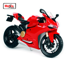 Maisto 1:12 Red Ducati 1199 Panigale MOTORCYCLE BIKE Model FREE SHIPPING S 1000 RR/R 1200 GS 11108(China)