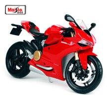 Maisto 1:12 11108 Ducati 1199 Panigale MOTORCYCLE BIKE Model FREE SHIPPING