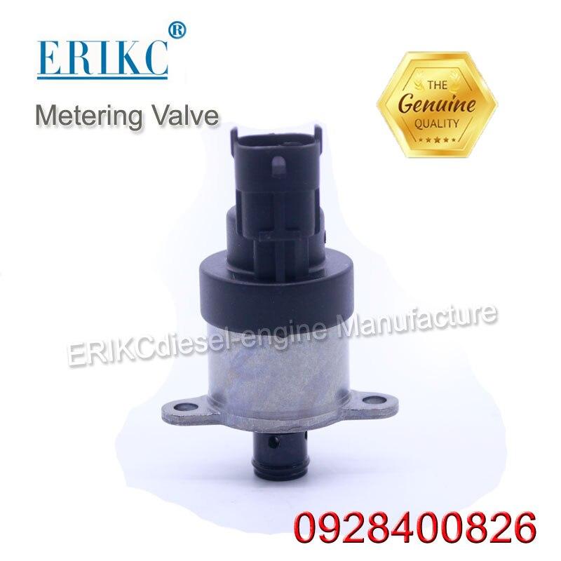 ERIKC Suction Control Valve 0928400826 bosch diesel piezo injector meter valve 0 928 400 826 automobile engine oil valves