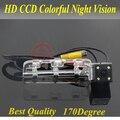 Nightvision 4 led ccd chip de visión trasera cámara del revés del estacionamiento para Geely Emgrand EC7