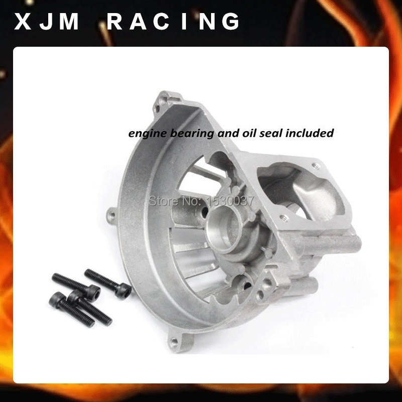 4 hole crankcase (including bearing, oil seal)for Baja 23cc 29cc 30.5cc engine parts oil seal