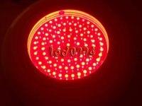 Растет светать Бесплатная доставка Новый 90 Вт UFO СИД завод гидропоники лампы Лампы для роста растений все красный 660nm