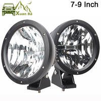 Comprar XuanBa 2 uds 4D 7 /9 pulgadas 50W luz Led redonda de trabajo 12V luz antiniebla de conducción para 4x4 Tractor todoterreno 24V SUV 4WD ATV faros