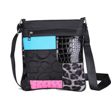 Women Bohemian geometric patchwork pattern Small Messenger Bag Solid Envelope Out Crossbody Bag handbag flap single shoulder bag