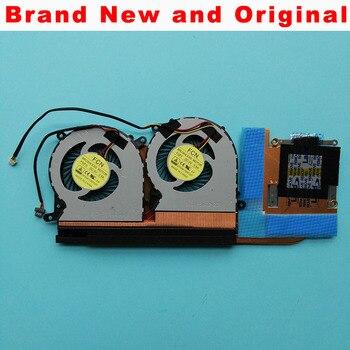 Nowy oryginalny wentylator radiatora chłodnicy dla Clevo P650SE 6-31-P6502-G02 6-31-P6502-200 6-31-P6502-201 FG80 DFS541105FC0T FGFF chłodnicy