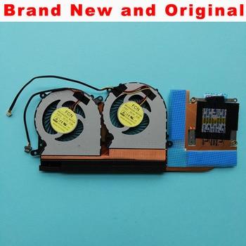 Original nuevo enfriador del ventilador paral disipar calor para Clevo P650SE 6-31-P6502-G02 6-31-P6502-200 6-31-P6502-201 FG80 DFS541105FC0T FGFF radiador