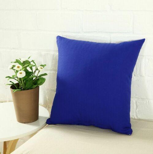 Home Sold Multi-Color Vintage Art Style Cotton Linen Pillow Case Throw