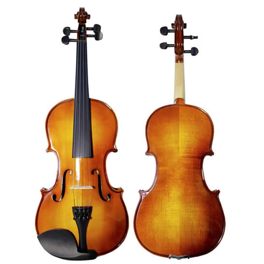 Antique Violin 4/4 3/4 Maple Violino High-grade Handmade Acoustic Students Violin Fiddle For Beginner TONGLING Brand цена