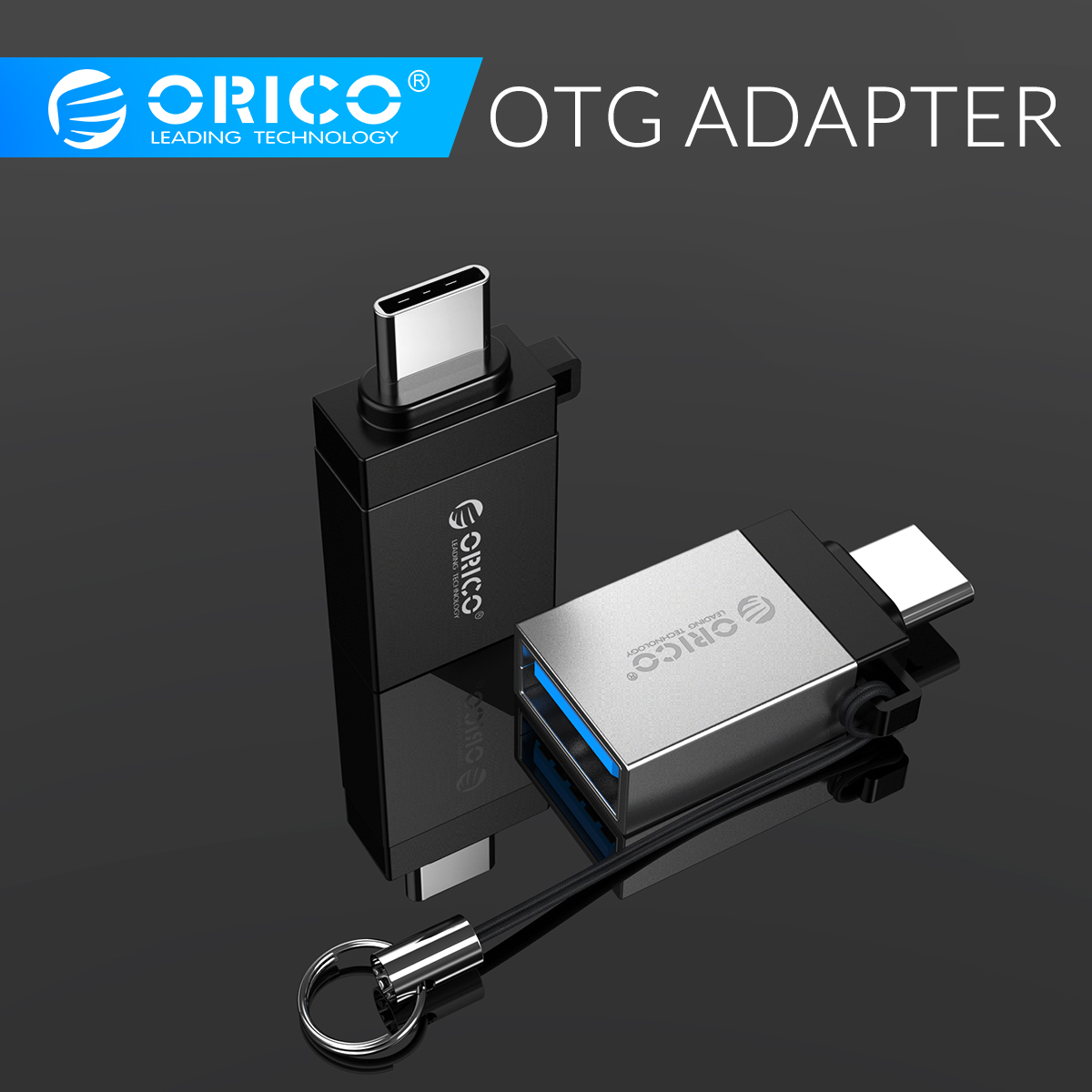ORICO OTG Adapter USB 3.0 To Type C Micro B USB Type-C OTG Adapter Converter For Huawei Samsung Macbook OPPO