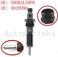 4928990 390KAL59P6 OEM New Fuel Supply Control System Diesel Fuel Injector for CUMMINS 4BT Engine 100% Quality Tested