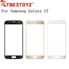 RTBESTOYZ For Samsung Galaxy S7 Front Touch Screen Glass Outer Lens G9300 TouchScreen Front Glass Replacement Repair Parts+tools(China)