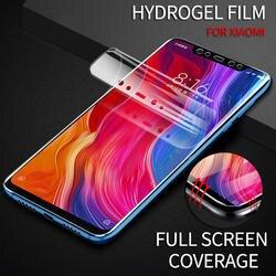 8D полное покрытие гидрогель пленка для Xiaomi 9 8 Lite смешать 3 Макс 3 Примечание 3 PocoPhone F1 Экран Защитная пленка для Redmi Note 7 6 5 Pro