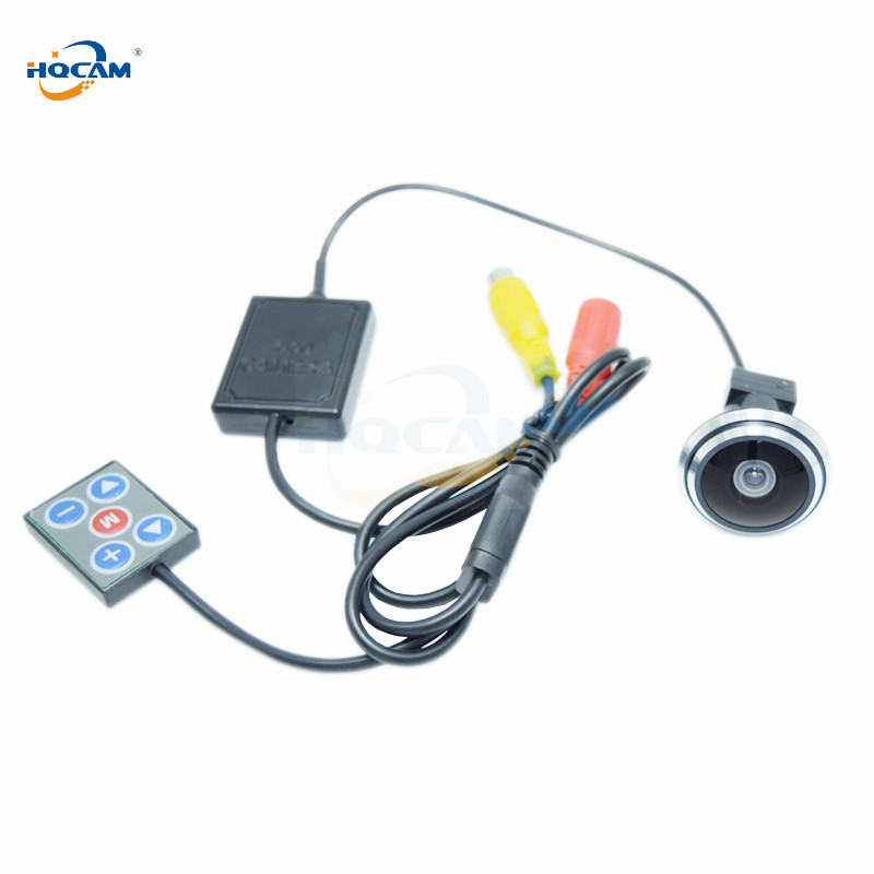 HQCAM 700TVL Mini 1/3'' SONY Color CCD Camera Separated camera Acid Resisting High Hardness 170 degrees fisheye wide-angle lens fisheye lens micro ccd camera mini car camera
